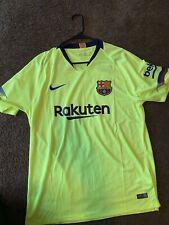2018-19 Nike New FC Barcelona Men's Away Soccer Jersey SZ XL