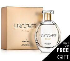 New! Careline Uncover Glow Woman perfume Edp 100ml 3.5OZ Gentle wild delicate