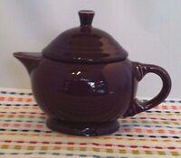 Fiestaware Heather Small Teapot Fiesta Retired Purple 2 Cup Childs Teapot