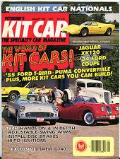 Kit Car Magazine January 1989 The World of Kit Cars! Safir GT40 VGEX 122815jhe
