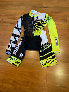 Brand New Original SPORTFUL Cycling Long Sleeve Warm Skin suit Size S For Men