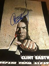 Clint Eastwood  signed 8 x10 photo picture