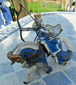 Papo - Figures 39914 / 39795 - Knight's Horse with Ram's Head & Dragon King