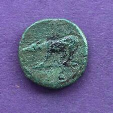 M3083 Trajan AE Quadrans. AD 115. 15mm  2.3g