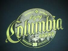 Enjoy Columbia Brand T-shirt Black Large? Authentic Outdoor American 38 Apparel