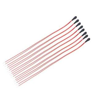 10pcs MF52B 10K NTC Thermistor High Sensitivity with 60mm Enameled Wire New rs