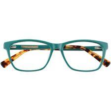Womens Christian Siriano Lolo Green Eyeglass Frames NWT 54-15-140 $88 Retail