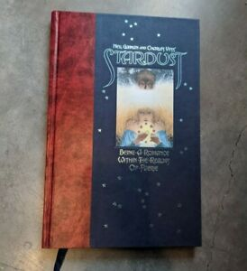 Stardust Neil Gaiman, Charles Vess, First Edition Hardcover book illustrated