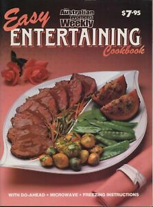 Women's Weekly - EASY ENTERTAINING COOKBOOK - VINTAGE EDITION LIKE BRAND NEW