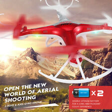 Red JJRC H33 HD Camera 2.4Ghz 4CH 6-Axis 3D-flip RC Quadcopter Helicopter Drone