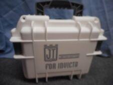 INVICTA 3 SLOT JT JASON TAYLOR LIMITED EDITION DIVE HARD STORAGE CASE WHITE