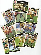 Merlin Liga de rugby Colección 1991 Completa Equipo Conjunto Castleford CROMOS