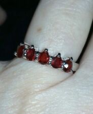 Super Rare 1.02 Songea Ruby Sterling Silver Ring SUPER RARE GEM