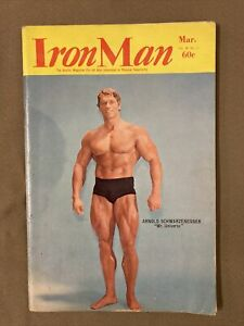 Ironman Bodybuilding Magazine / Arnold Schwarzenegger + Franco Columbu / 03-70
