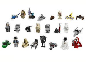 LEGO® 9509 Star Wars™ 2012 Advent Calendar INDIVIDUAL MINIFIGS, VEHICLES, ARMOUR