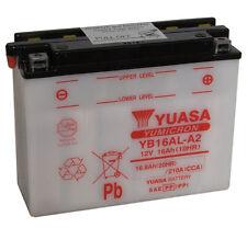 Batterie Yuasa moto YB16AL-A2 YAMAHA XV750 Virago (All) 81-97