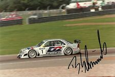 Bernd Schneider 1996 ITC AMG Mercedes Touring Car F1 driver signed photo