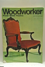 Woodworker Magazine. January, 1970. Volume 74, number 914. Period Cupboard.