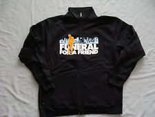 FUNERAL for a FRIEND Track Jacket sweat shirt Large NEW Worldwide Shipping!