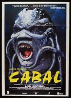 Werbeplakat Cabal Clive Barker Craig Sheffer Bobby Cronenberg Horror M11