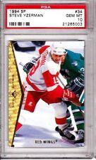 Steve Yzerman, 1994-95 SP card #34, PSA Graded GEM MINT 10-Must See - WOW!