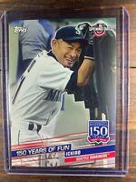 Ichiro Suzuki Baseball Card #YOF-21 Topps 150 Years Seattle Mariners MLB HOF