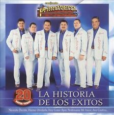 FREE US SHIP. on ANY 2+ CDs! ~Used,Good CD Conjunto Primavera: Historia De Los E