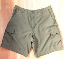 Magellan Sportswear Men/'s Expedition Cargo Shorts Brown sz 36