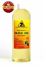 OLIVE OIL REFINED ORGANIC COLD PRESSED by H&B Oils Center FRESH 100% PURE 64 OZ