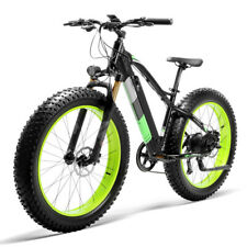 "XC4000 Electric Bikes 500W 36V 16AH 9 Speeds Fat Tire Mountain Bike 26"" Fat Bike"