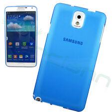 Custodia ultra sottile 0,3mm AZZURRO trasparente per Samsung Galaxy Note 3 N9005
