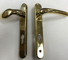 Mila Gold Lever/Pad Door Handles