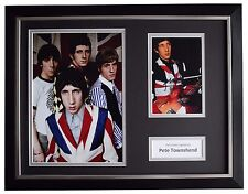 Pete Townshend Signed FRAMED Photo Autograph 16x12 display The Who Music COA