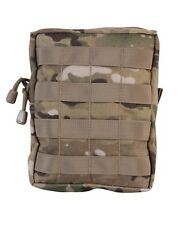 MULTICAM / MTP Camo ARMY STYLE MOLLE Large Zipped Army Utility Webbing Pouch