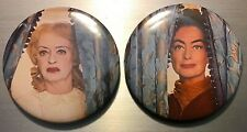 WHATEVER HAPPENED TO BABY JANE PIN BUTTON OR MAGNETS Crawford Bette Davis Feud D