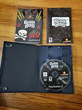 Guitar Hero 1 (Sony Playstation 2, 2006) PS2 TESTED WORKING + original stickers