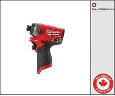 Milwaukee 2553-20 M12 GEN II FUEL 12V Brushless 1/4 Hex Cordless Impact Driver