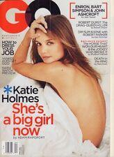 GQ April 2002 Katie Holmes, Bart Simpson 020917DBE2