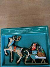 1985 Hallmark Keepsake Special Edition Ornament The Spirit of Santa Claus