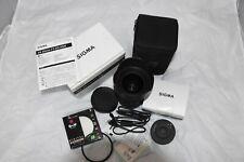 New listing Sigma Art 24-35mm f/2 Dg Hsm Zoom Lens for Nikon Af Hood Caps Fx Extras! Usa