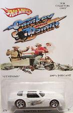 "Hot Wheels CUSTOM '70 PONTIAC FIREBIRD T/A ""Smokey And The Bandit"" RR LTD 1/5!"