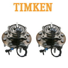 Pair Set of 2 Front Wheel Hub Assemblies Timken SP580310 For Chevrolet Silverado