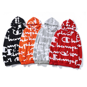 21 Hot Men's Champion Hoodies Sweatshirts Long Sleeve Embroidered Hooded jacket