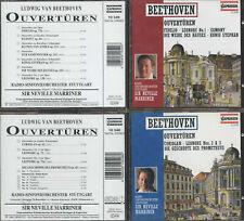 2CD Beethoven Ouvertüren Dirigent Marriner Capriccio