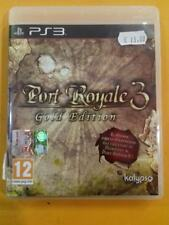 PLAY STATION 3 - PORT ROYALE 3 GOLD EDITION