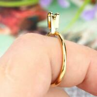 Metal Spring Type Ring Stone Gemstone Diamond Holder Display Jewelry Making Tool