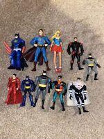 10x Action Figure Bundle Job Lot - DC Comics - Batman - Robin - Superheroes (2)