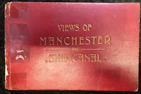 Views Of Manchester and Ship Canal By Robert Banks Vintage Photographs 1903 Rare
