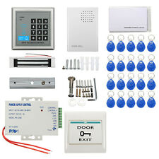 Security RFID Electric Door Keypad Lock Access Control ID Card Password System