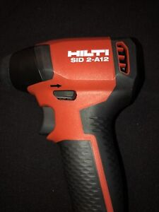 New Edition Hilti SID 2A 12v Brushless Drill Impact Driver No BatterybNo Charger